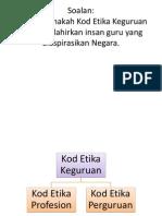 Kod Etika Keguruan