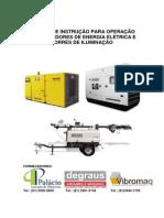 Manual de Instrução Para Operação Com Geradores de Energia Elétrica