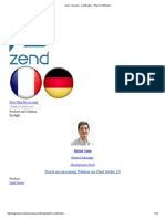 Zend - Services - Certification - Php 5 Certification