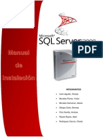Manual de Instalacion SQL SERVER EXPRESS r2