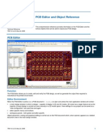 PCB Editor and Object Reference