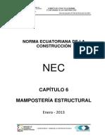 Nec Cap6 Mamposteria Estructural