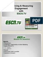 ESCN Tv Marketing Webinar
