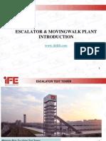 Ife Escalators Plant Introduction