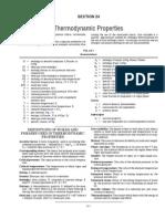 M24 - Thermodynamic Properties