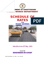 SOR Road Works 2013