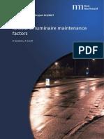 Maintenance Factors