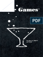 Bar Games [Accolade] [1989] [Manual]