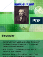Kant's Biography From-ppt