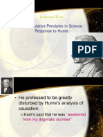 Kant's Response to Hume