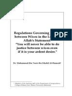Regulations Concerning Justice Between Wives
