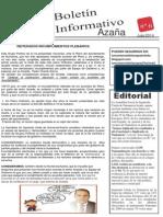 Boletin Informativo de Julio 2014