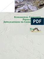Ecological concepts, principles and applications to conservation
