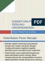 3.Konsep Dan Peran Perilaku Organisasional