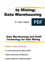 Data mining / data warehousing