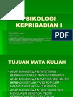 Psikologi Kepribadian i