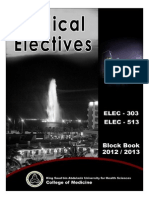 08. Elective Block Book 2012-2013 (Ksuhs Batch 2's Conflicted Copy) (Ksuhs Batch 2's Conflicted Copy)