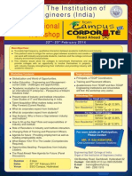 2 Days National Workshop From Campus2corporate