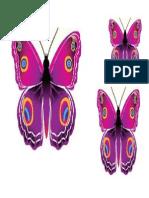 Butterfly 3d Ungu