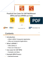 Pactical Use Cases for SAP Netweaver BPM