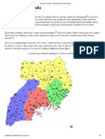 Districts of Uganda