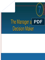Management_007 Manager as Decision Maker