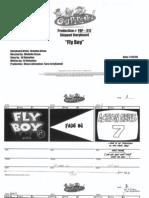 """""""Fly Boy"""" Storyboard"""