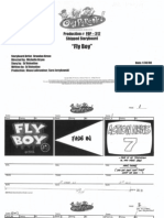 """Fly Boy"" Storyboard"