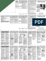 Bionaire BUL9100-UM Manual