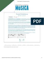Escala Pentatônica _ Descomplicando a Música