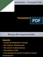 Human Development Index-India
