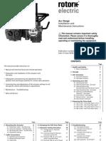 Rotork E370E AWT Range Installation and Maintenance Instruction