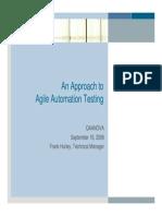 Agile Automation Testing