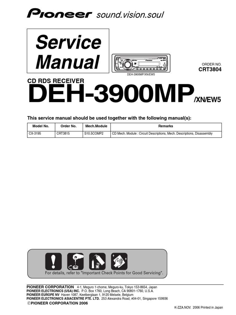 pioneer deh 3900mp wiring diagram deh 3900mp electrical connector inductor  deh 3900mp electrical connector