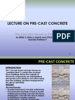 Pre-fabricated Concrete