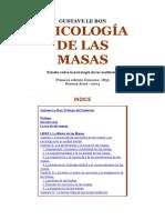 Le Bon - Psicología de Masas