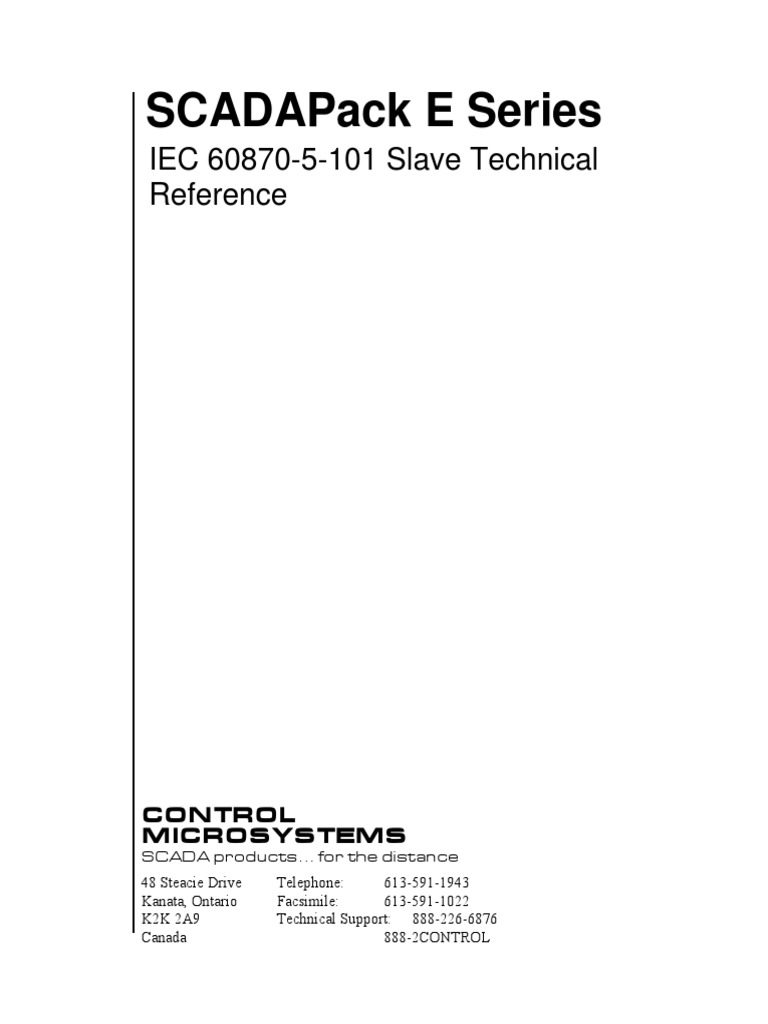 iec 60870 5 101 pdf_E Series Iec 60870-5-101 Slave Technical Reference | Port (Computer Networking) | File ...