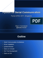 Python for Serial Communication(1)