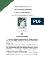 Antonio Cesar Perri Carvalho - Os Sábios e a Sra Piper