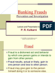 Banking Frauds New