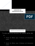 Laboratory and Demonstration Method Final (1)