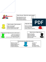 The 6 thinking hats- guidelines