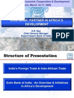 India Eximbank in Africa