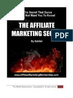 Affiliate Marketing Secret