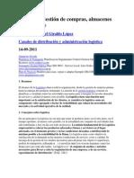 Logística-gestion de Compras, Almacenes y Transporte