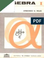 Algebra 1 - Armando Rojo
