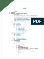 Fuentes de Materiales y Fuentes de Agua. Firme