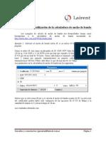 ART0003 - Tutorial Para Uso de La Calculadora de Ancho de Banda