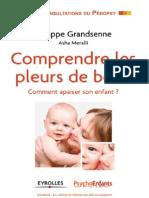 Philippe Grandsenne, Asha Meralli - Comprendre les pleurs de bébé_Comment apaiser son enfant.pdf