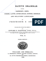 BOPP a Comparative Grammar of the Sanskrit Etc Volume 2